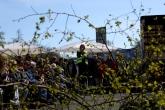 Ortsvorsitzende Uschi Bethke begrüßt zum 26. Maibaum Aufstellen der FDP Altenholz-Kronshagen